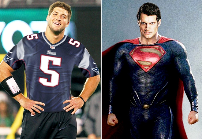 Tebow = Superman